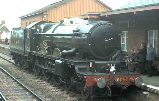 5051 Earl Bathurst at Bishops Lydeard
